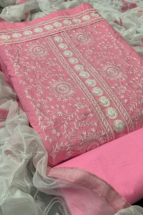 Absorbing PC Cotton Ladies Chudi Collection In Pink Color