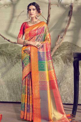 Banarasi Sarees To Look Stunning At Weddings