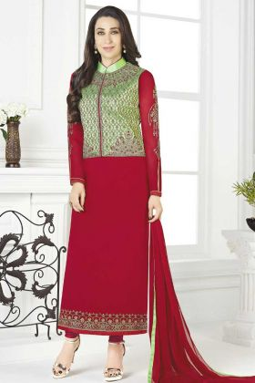 Buy Latest Indian Jacket Style Salwar Suit