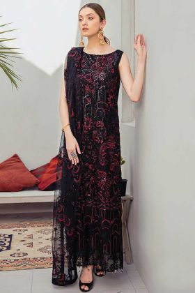 Designer Party Wear Pakistani Style Black Salwar Suit