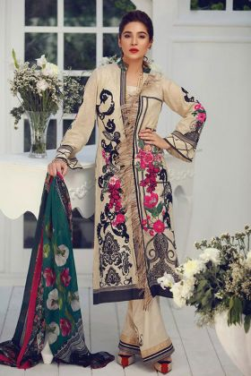 Designer Grey pakistani Salwar Suit