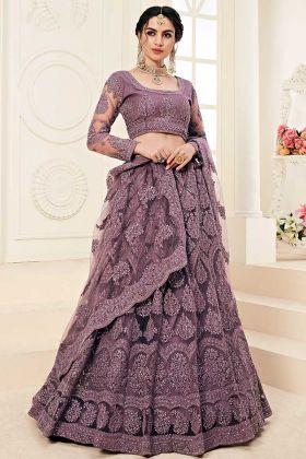 Designer Lehenga With Heavy Look and Beautifull Embroidered Work