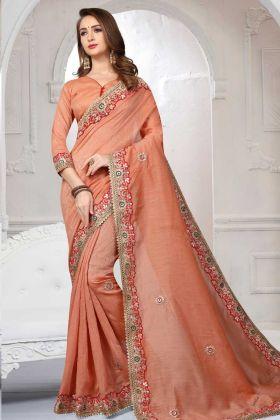 Designer Sarees For Diwali Pooja