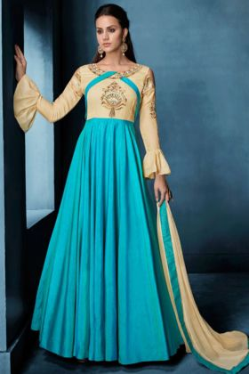 Designer Soft Tapeta Wedding Salwar Suit