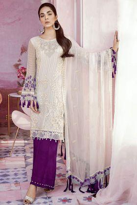 Designer Wedding Palazzo Salwar Suit Heavy Georgette