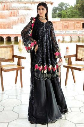 Eid Special Delightful Black Georgette Pakistani Suit