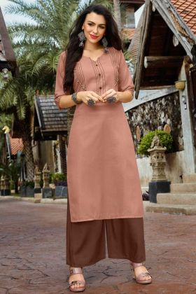 Fancy Palazzo Kurtis Collection For Womens