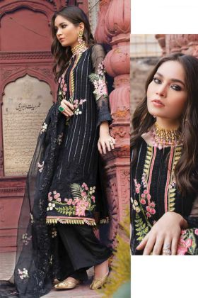 Festival Wear Black Color Pakistani Style Suit For Eid