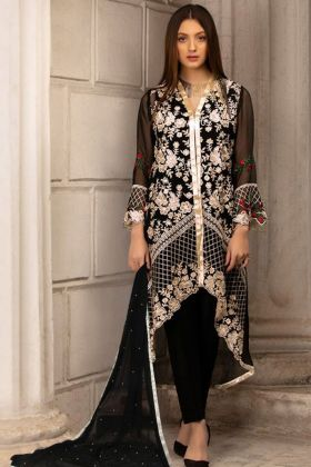 Georgette Embroidered Pakistani Suit