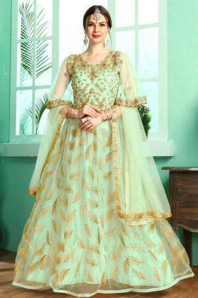 Glamour Net Fancy Coktail Anarkali Gown