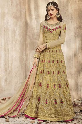 Heavy Embroidered Floor Length Anarkali Salwar Suit