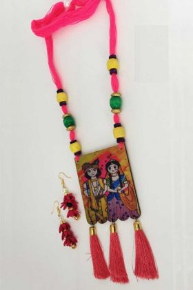 Indian Bollywood Ethnic Garba Necklace Set