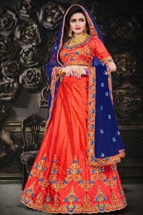 Indian Bridal Lehenga Choli For Marriage