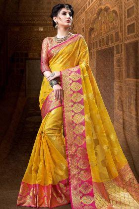 Indian Designer Saree with Beautiful Blouse