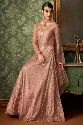 Light Pink Color Wedding Salwar Suit
