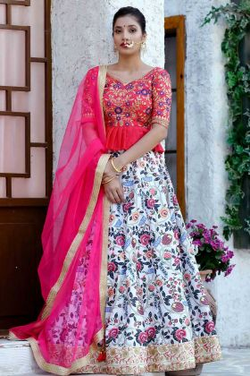 Multi Color Bridal Lehenga Choli