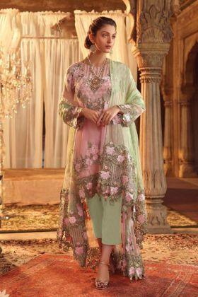 Multi Color Georgettle Pakistani Salwar Suit