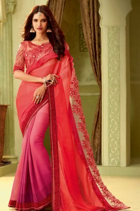 Multi Color Luxury Silk Stylish Saree