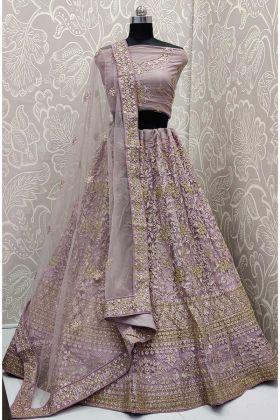 Pretty Heavy Embroidered And Attractive Lehenga Choli