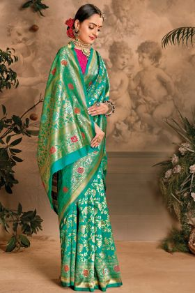 Rama Color Art Silk New Designer Saree Collection At 2021