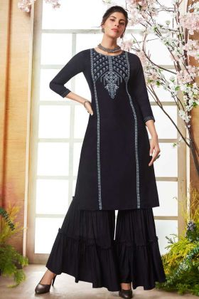 Readymade Sharara Kurta Set