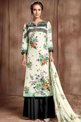 Sharara Suit Cotton Digital Printed