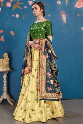 Wedding Season For Perfect Designer Lehenga Choli In Yellow